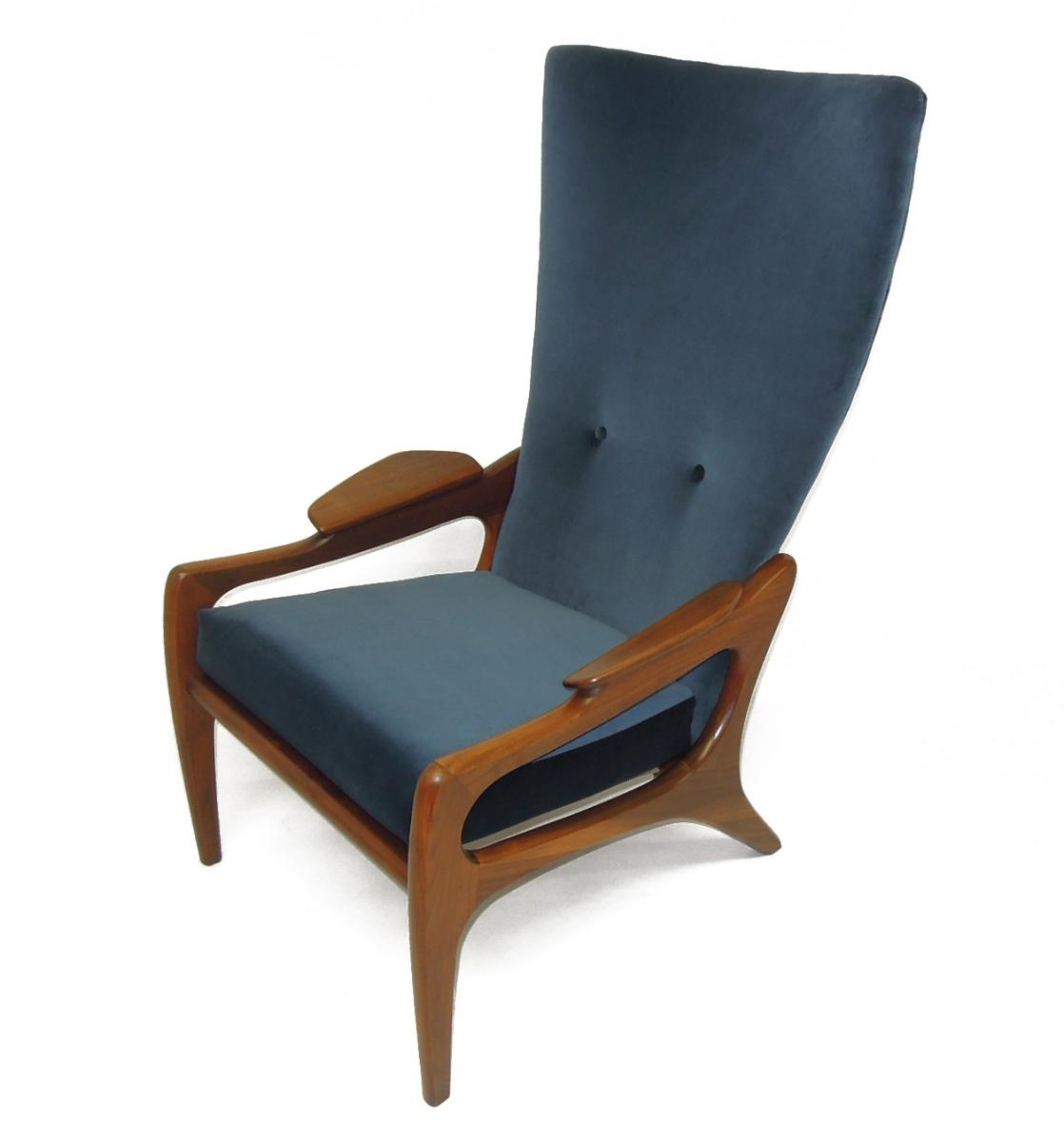 Adrian Pearsall Sofa Chair Reupholstery